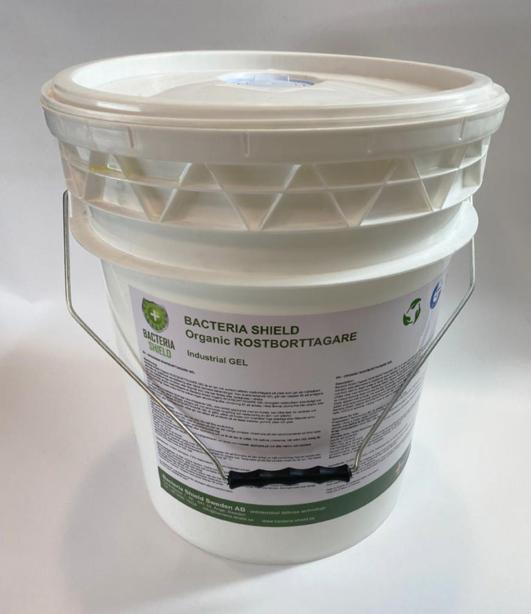 Bacteria Shield rust remover drum