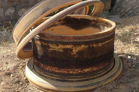 Rusted wheels / rims